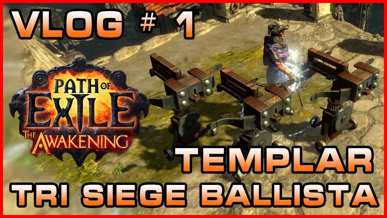 Siege Ballista Totem Build Poe