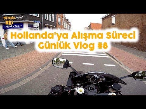 Hollanda'ya  Alışma Süreci - Günlük Vlog #8