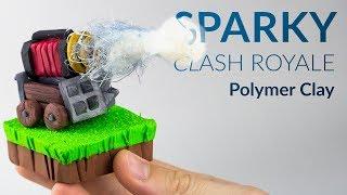 Sparky (Clash Royale) – Polymer Clay Tutorial