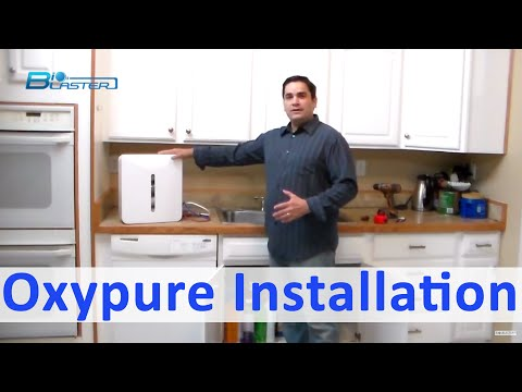 Oxypure: 5-Stage Filter System To Convert Regular Tap Water Into Alkaline And Ionized Water