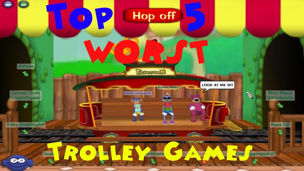 trolley games