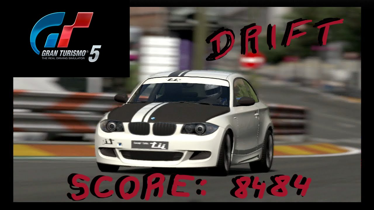 BMW concept 1 series tii \'07 [DRIFT][Gran Turismo 5] - YouTube