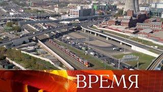 Смотреть видео Мэр столицы С.Собянин рассказал президенту об успехах Москвы и помощи городу-побратиму Севастополю. онлайн
