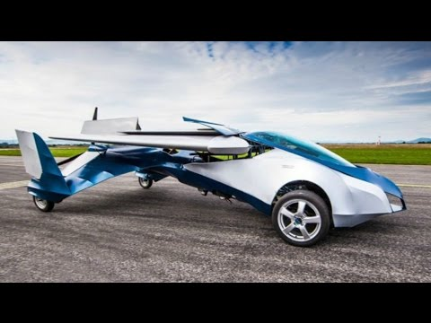 Aeromobil could be flying cars of the future; Rolls Royce Vision 100 concept car - Compilation