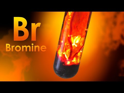 Bromine - THE UNIQUE LIQUID ELEMENT!