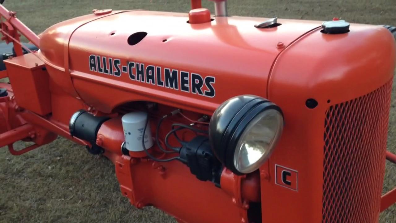 Allis Chalmers C Farm Tractor | Allis Chalmers Farm Tractors: Allis
