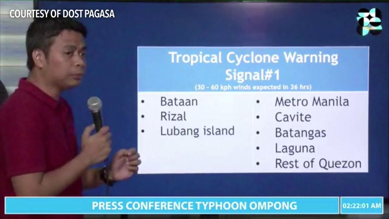 Typhoon Ompong (Mangkhut) update | 2AM Sept 15, 2018