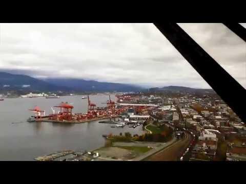 VANCOUVER CANADA - Harbour Centre TIMELAPSE