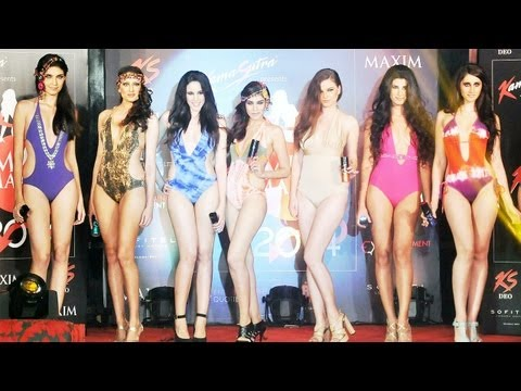 KamaSutra Miss Maxim 2014 Launch