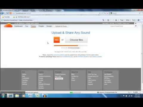 Export, Upload, and Post Audacity Audio