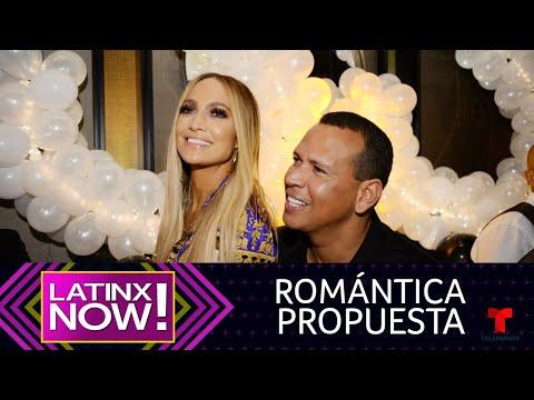 Así fue la romántica propuesta de Alex Rodriguez a Jennifer Lopez | Latinx Now! | Entretenimiento