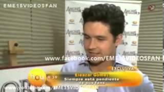 Eleazar Gomez en Hoy - Entrevista  sobre Video Chat y Amores Verdaderos [28/Febrero/2013]