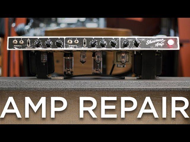 Repairing a Mysterious Guitar Amp