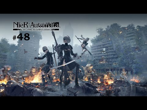 Nier: Automata | Become as Gods Edition | Let&39;s Play Part 48 | Blind | PC | Hard | Rain, Wind, Storm