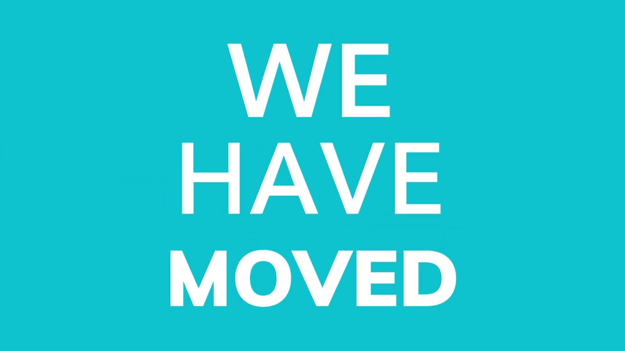 We Have Moved! [New Channel]