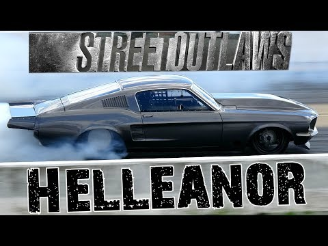 Street Outlaws Helleanor Drag Racing at Thunder Valley Raceway