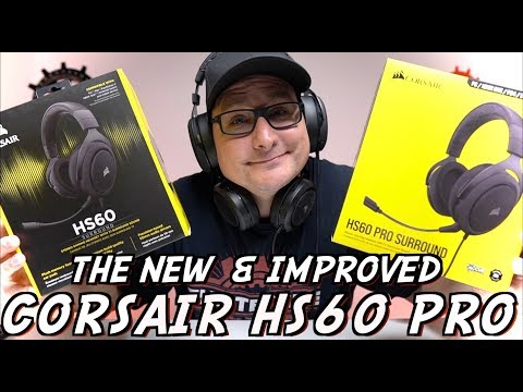 NEW Corsair HS60 PRO Detailed Review! + Old HS60 Comparison