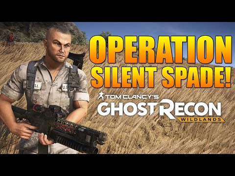"""OPERATION """"SILENT SPADE"""" COMPLETION!   Ghost Recon Wildlands PVE Future Solider DLC Mission"""