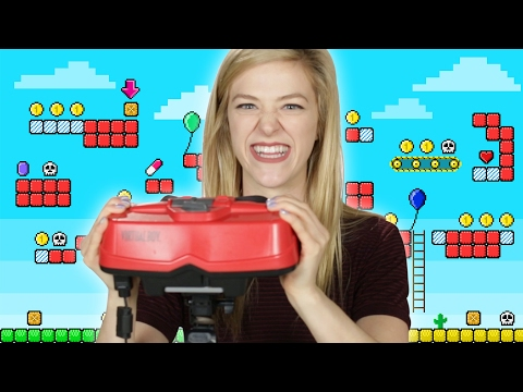 """People Play Nintendo's """"Virtual Boy"""" For The First Time"""