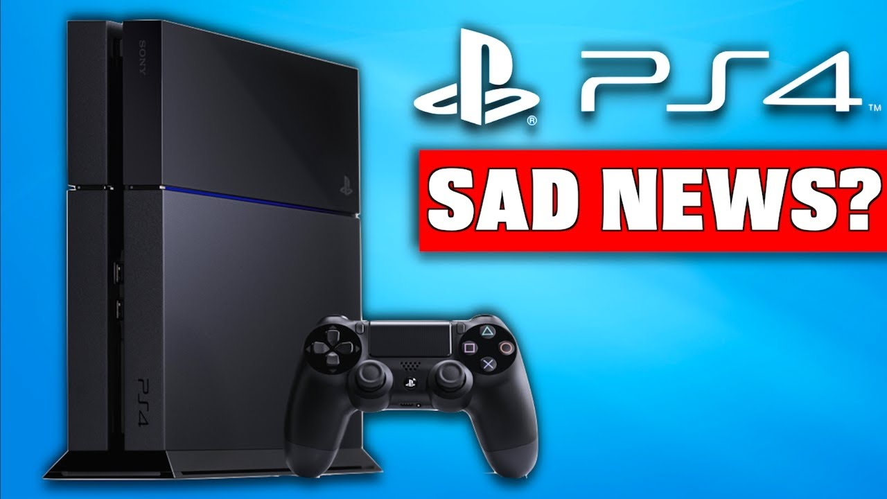 bad news for ps4 sales ps4 pro console youtube. Black Bedroom Furniture Sets. Home Design Ideas
