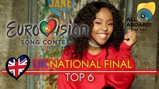 Eurovision 2018 | UK National Final (You Decide) | TOP 6