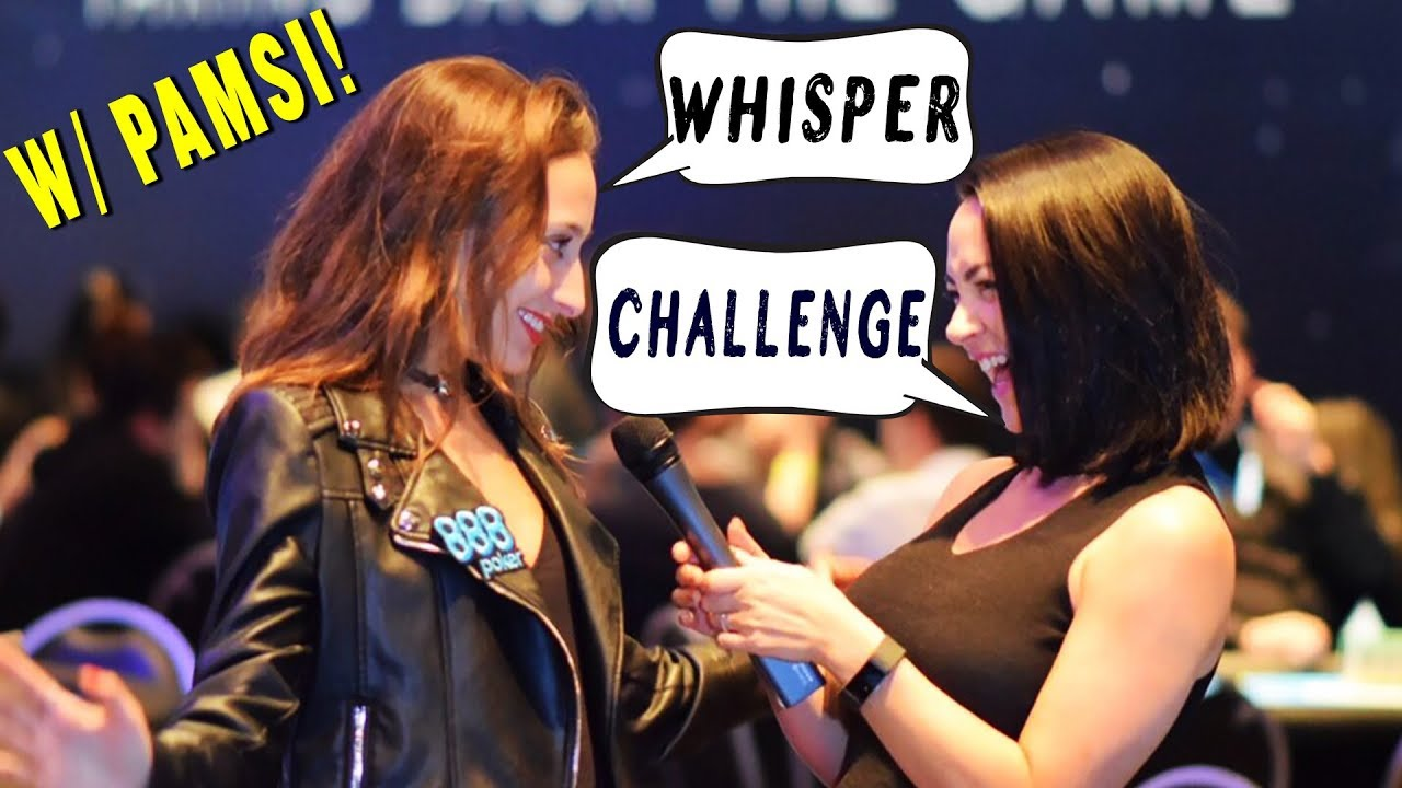 Whisper Challenge with Pamsi in São Paulo