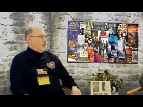 Timothy Zahn (Author: Star Wars Novels/Star Wars Thrawn) interview on the Hangin With Web Talk Show