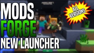 How To Install Forge and Mods! New Minecraft Launcher (All Versions)