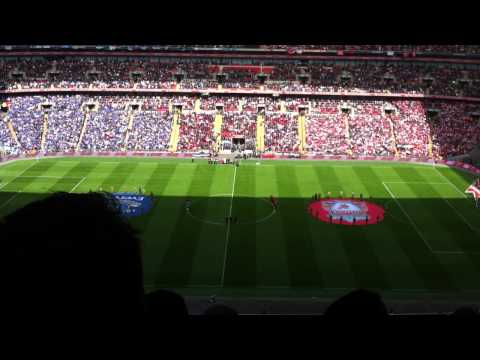 Liverpool vs Everton 2 - 1 - Minute Silence, Justice For The 96
