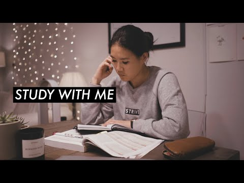 STUDY WITH ME: 2 hour pomodoro session!
