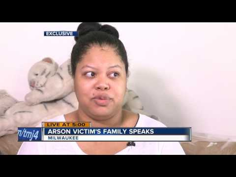 Family of Milwaukee arson fire victim reacts.