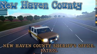 Roblox | New Haven County| NHCSO Patrol 2|