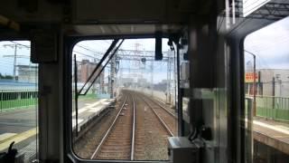【前面展望】出町柳~京阪三条~京橋~中ノ島【京阪本線・普通全線】