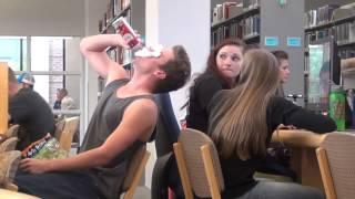 Как нужно вести себя в библиотеке!/How to behave in the library!