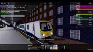 driving the new class 185 DMU in scr roblox!!