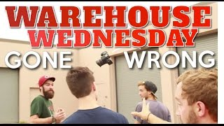 Warehouse Wednesday Gone Wrong! | Deleted Intro