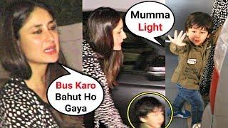 Kareena Kapoor ANGRY On Reporters For Flashing Light On Taimur Ali Khan