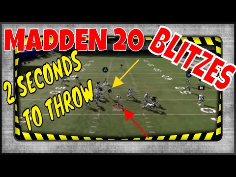 MADDEN 20 BLITZES: ARE THESE BLITZES FASTER THEN MADDEN 19