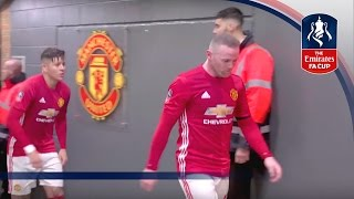 Tunnel Cam - Manchester United v Wigan (Emirates FA Cup 2016/17) R4 | Inside Access