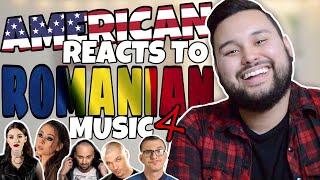 American REACTS // Romanian Music 4