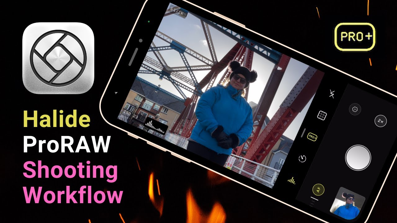 Download Halide ProRAW shooting workflow // Better or worse than the stock camera app?