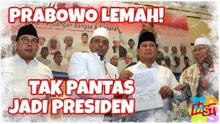 Prabowo Lemah Tak Berdaya Ditekan Ormas, Tak Pantas Jadi Presiden
