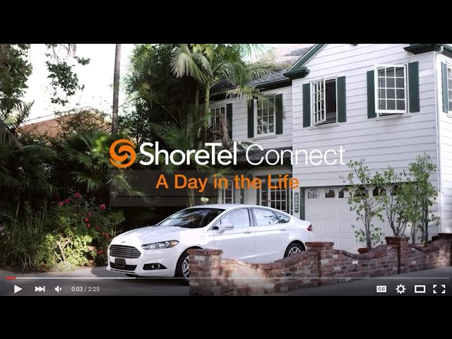 A Day In The Life of ShoreTel Connect