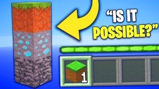 If Minecraft Worlds Only Had 3 Blocks