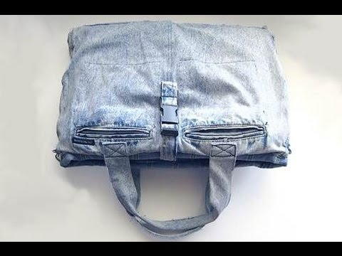 Borsa porta pc fai da te youtube for Porta cellulare fai da te jeans