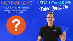 Is there a USDA maximum loan amount?