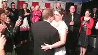 Brian og Bianka giftes 2008 - Brudevalsen
