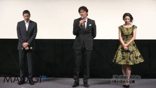 俳優の奥田瑛二さんが7月18日、東京都内で開催された映画「汚(けが)れ...