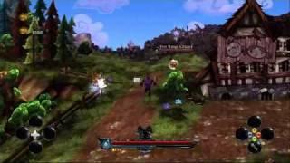 DeathSpank - In-game Combat