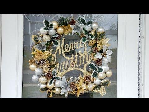DIY Christmas Decorations : DIY Christmas Wreath